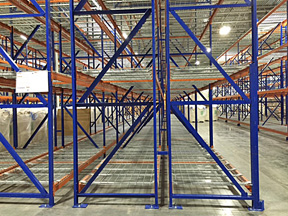 Double Deep Selective Pallet Racking