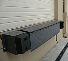 Edge of Dock Leveler 2