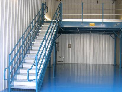 Clear Span Steel Mezzanine