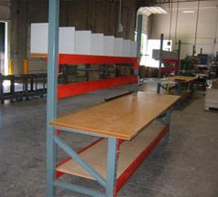 Custom Fabricated Work Bench