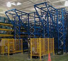 Finished Turnkey Warehouse Storage Systems