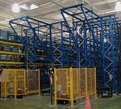 Finished Turnkey Warehouse Storage Systems