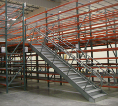 Rack Supported Catwalk Steel Mezzanines
