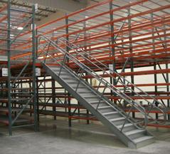 Pallet Rack Supported Catwalk Mezzanines
