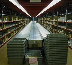 Steel Mezzanine, Case Flow Rack & Conveyor Systems