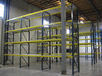 Structural Bolted Pallet Rack