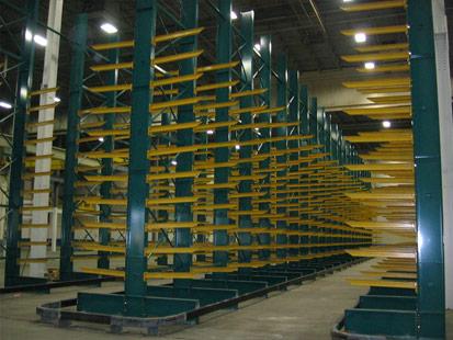 Structural Cantilever Pallet Rack
