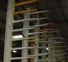 Used Cantilever Pallet Rack