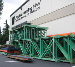 Used Pallet Rack Uprights, Beams & Wire Decking