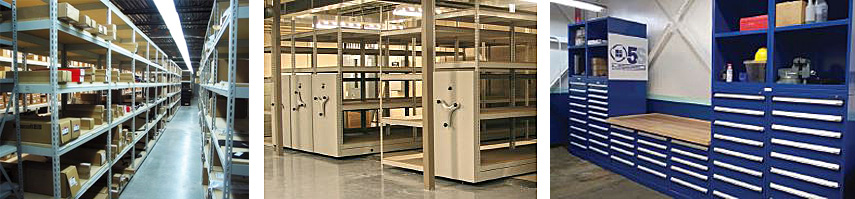 Increase and Organize Your Storage with Industrial Shelving Units