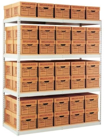 archive boltless shelving