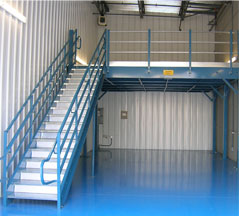 Clear Span Mezzanine
