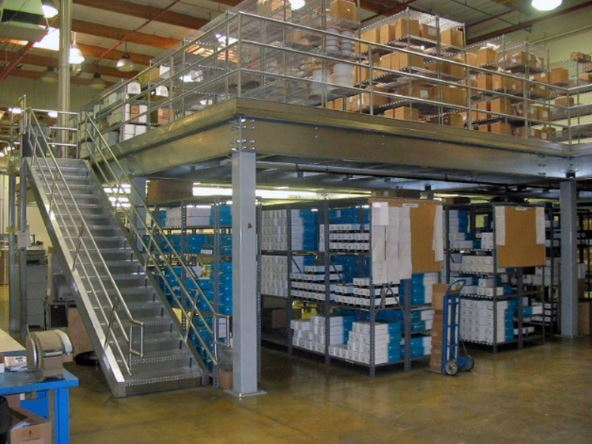 How Mezzanines Can Add Inventory Space to Your Existing Warehouse