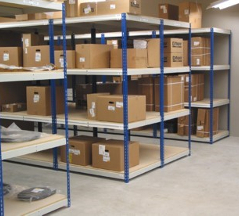 Boltless Metal shelving