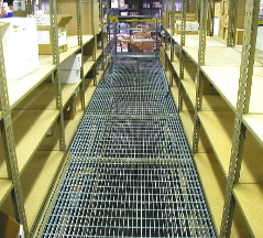 Catwalk Metal Shelving Systems 1