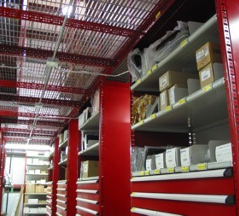 Catwalk Metal Shelving Systems