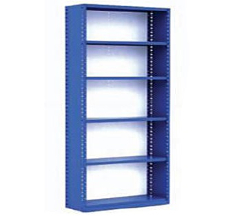 Closed Industrial Metal Shelving (with Closed Back)
