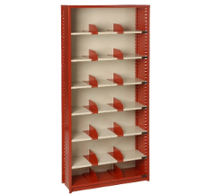 Flexi-Bin Industrial Metal Shelving (with dividers)