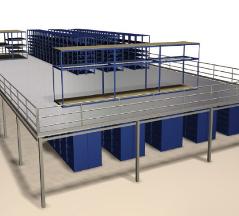 Full Mat Metal Shelving Systems