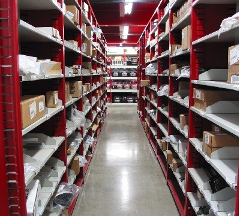 Industrial Open & Closed Metal Shelving 12