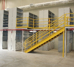Industrial Open & Closed Metal Shelving 6
