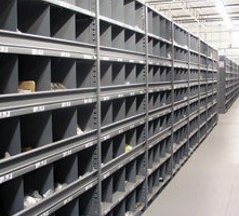 Industrial Open & Closed Metal Shelving 7