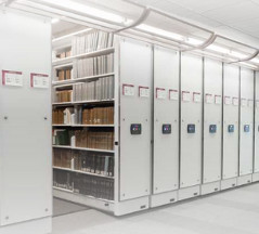 Montel Safe Aisle Mobile Shelving