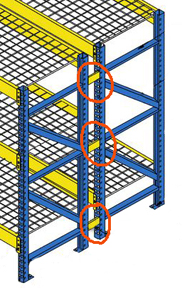 The Importance of Pallet Rack Row Spacers