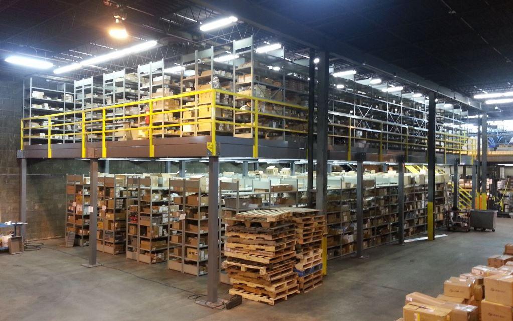 Steel Mezzanines: Increase Warehouse Efficiency & Enhance Productivity