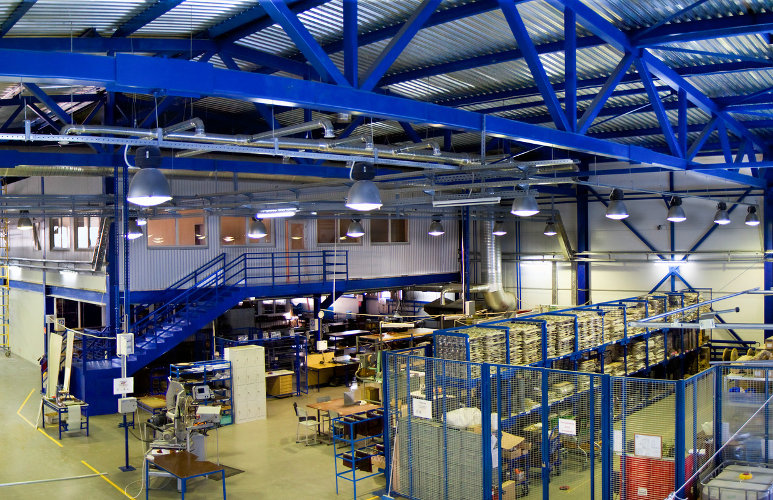 Addressing Safety Concerns of Industrial Mezzanines