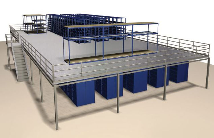 How to Save Space with Warehouse Mezzanines