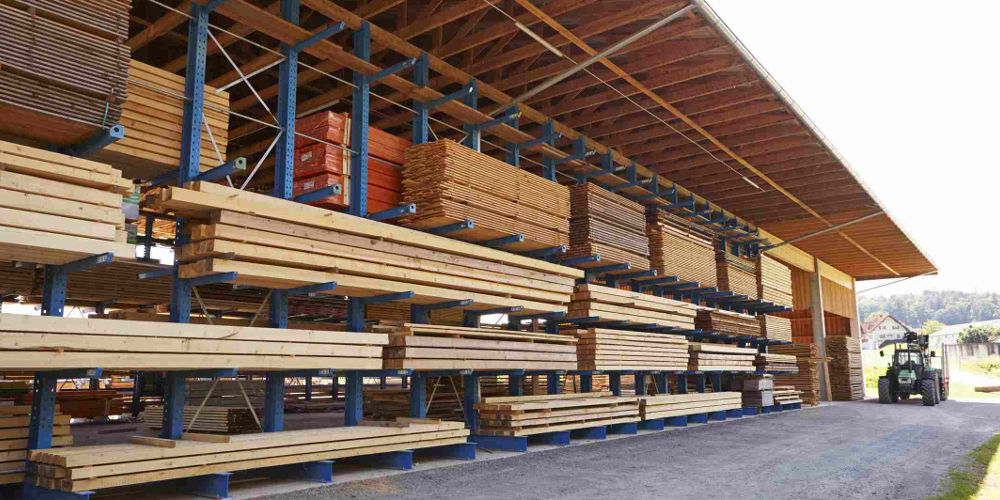pallet rack supported structures