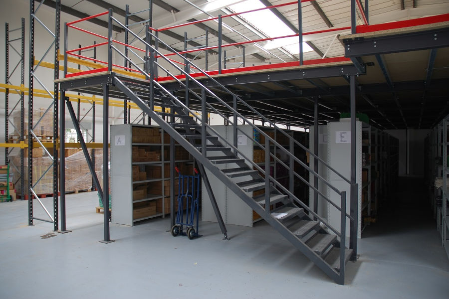 How Mezzanines Offer Space-Saving Solutions For Any Warehouse