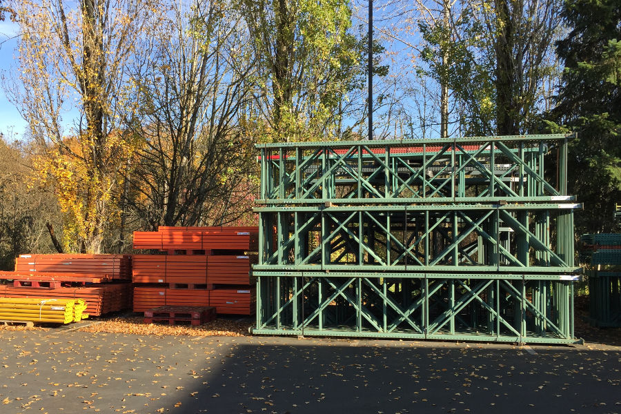 Used Pallet Racking in Seattle and Portland