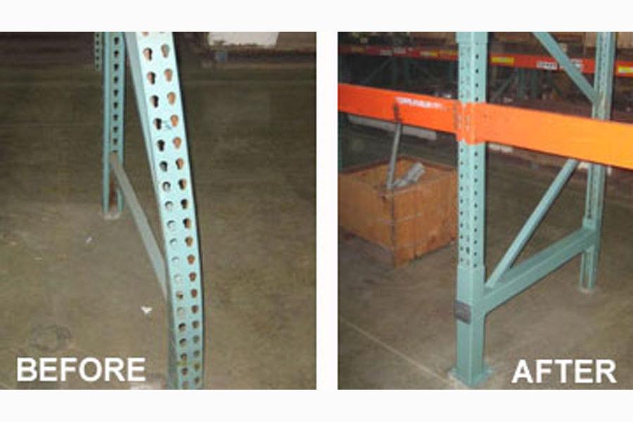 What Happens During A Pallet Rack Repair Process?