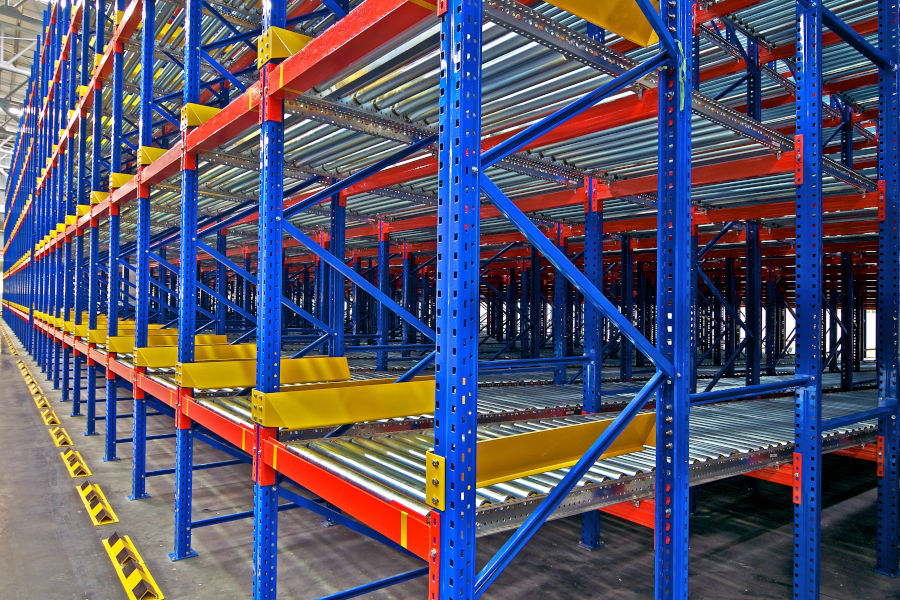 Different Types Of Pallet Rack Systems: Carton Flow/Case Picking