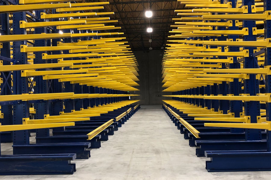 Different Types Of Pallet Racking Systems: Cantilever Racking