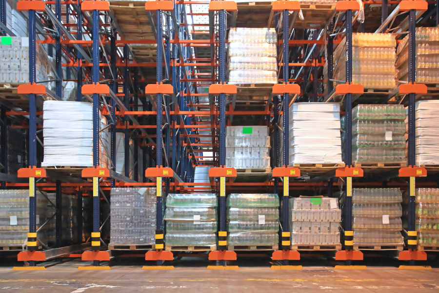Different Types Of Pallet Racking Systems: Pallet Flow Racking