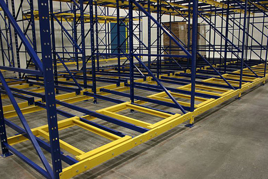 Different Types Of Pallet Racking Systems: Push Back Racking