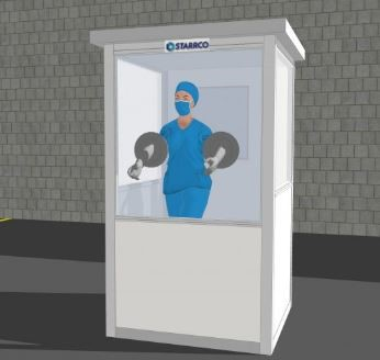 Screening Booth Modular Office