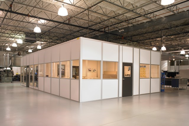 Shipping & Receiving Area Modular Offices